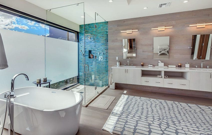 The Basic Components of Modern Bathroom Designs