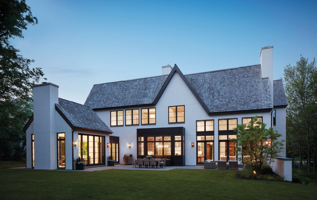 Zest Up Your Home With Exterior Home Composition