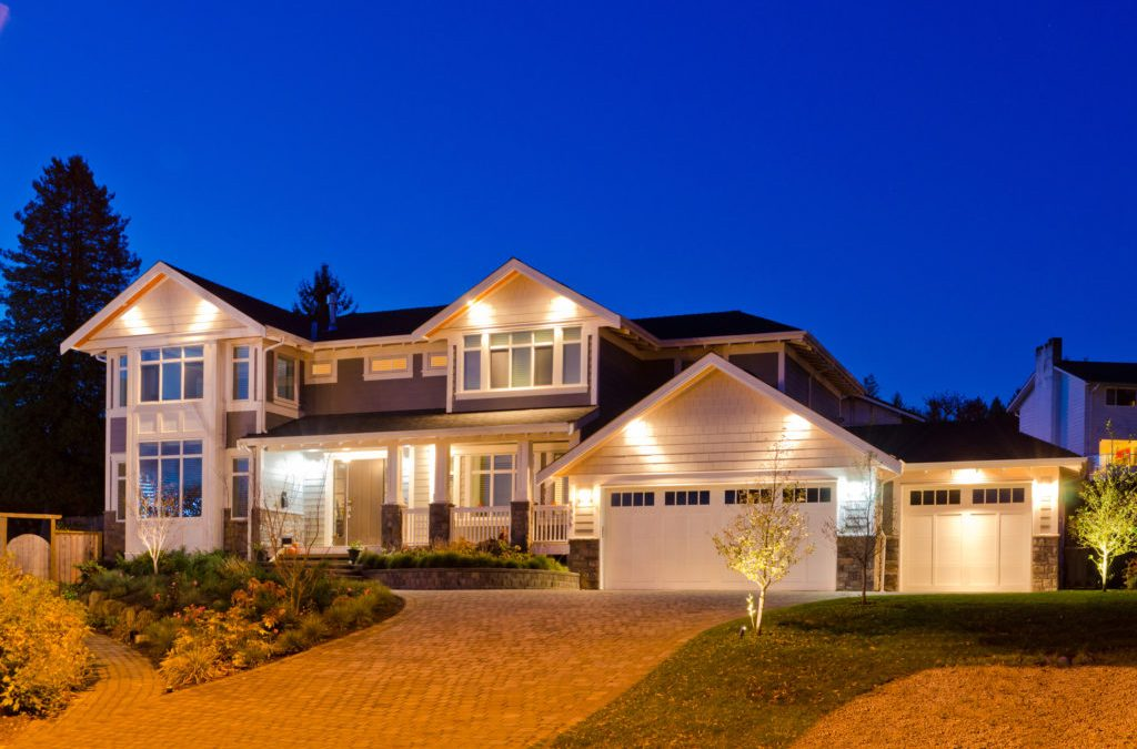 Sun based Controlled Exterior Home Lighting