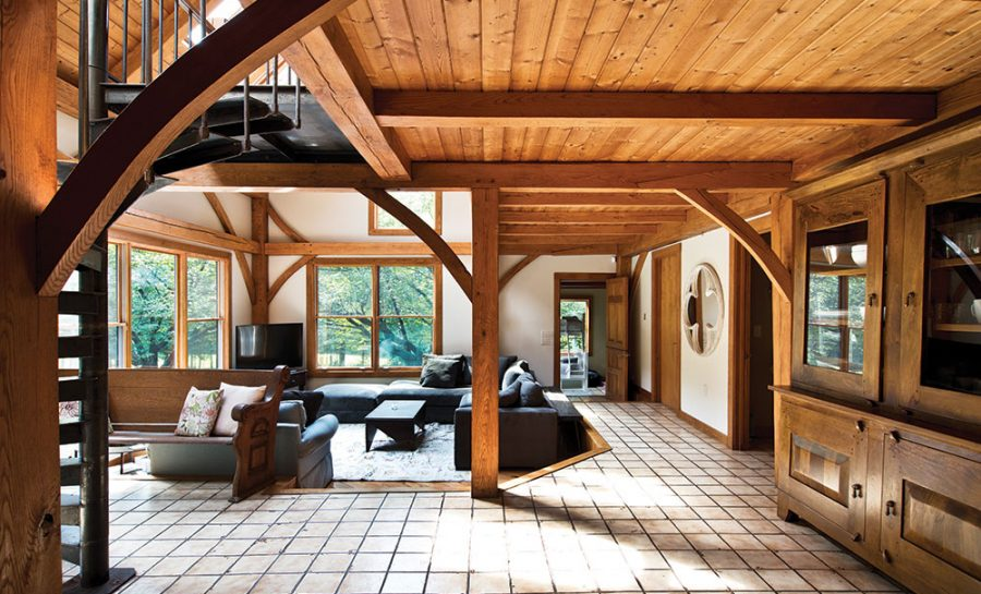 Log Home Contemporary and Present day Configuration Style
